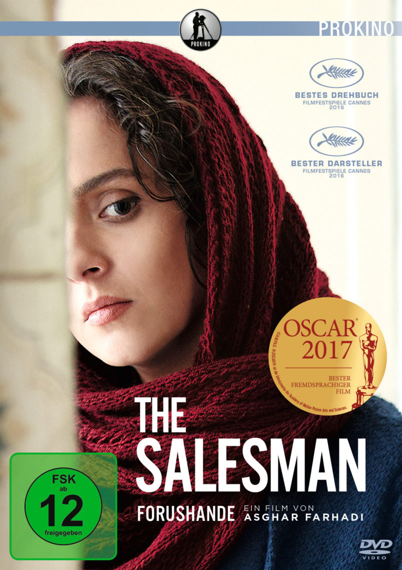 THE SALESMAN DVD-Cover