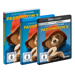DVD blu-ray und 4k Ultra HD Paddington 2