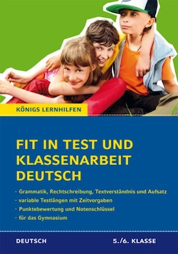 Fit in Test und Klassenarbeit – Deutsch