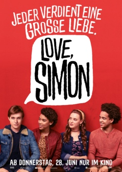 Love Simon Filmplakat