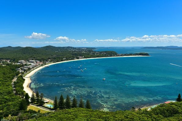 Port Stephens New South Wales Australien