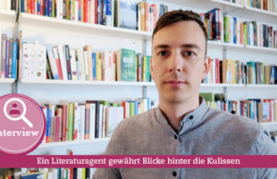 Titelbild Interview mit Literaturagent Thomas Schmidt