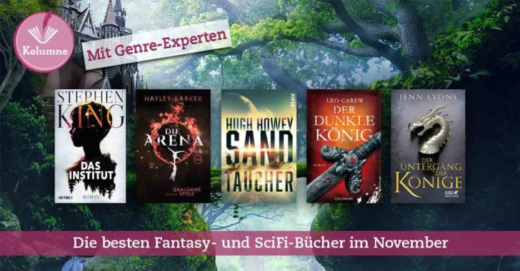 Science Fiction und Fantasy Buchtipps im November 2019