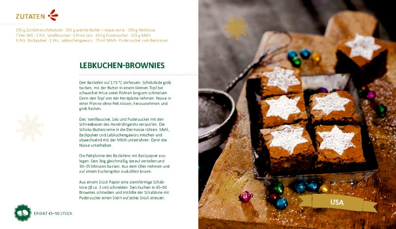Lebkuchenbrownies – Joy to the World
